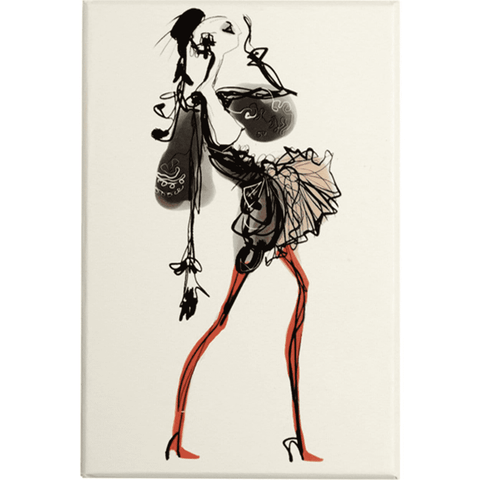 Christian Lacroix Haute Couture Die-Cut Boxed Notecards