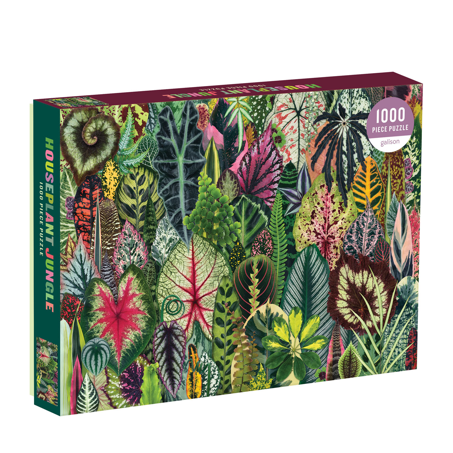 Houseplant Jungle 1000-Piece Jigsaw Puzzle