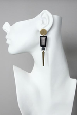 Load image into Gallery viewer, David Aubrey Earrings - Wanderlustre