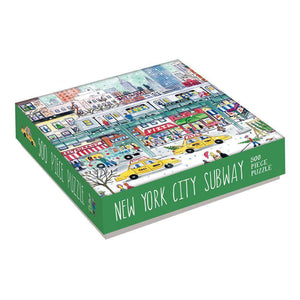 Michael Storrings New York City Subway 500-Piece Jigsaw Puzzle