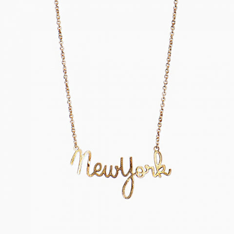 Titlee Paris New York Necklace