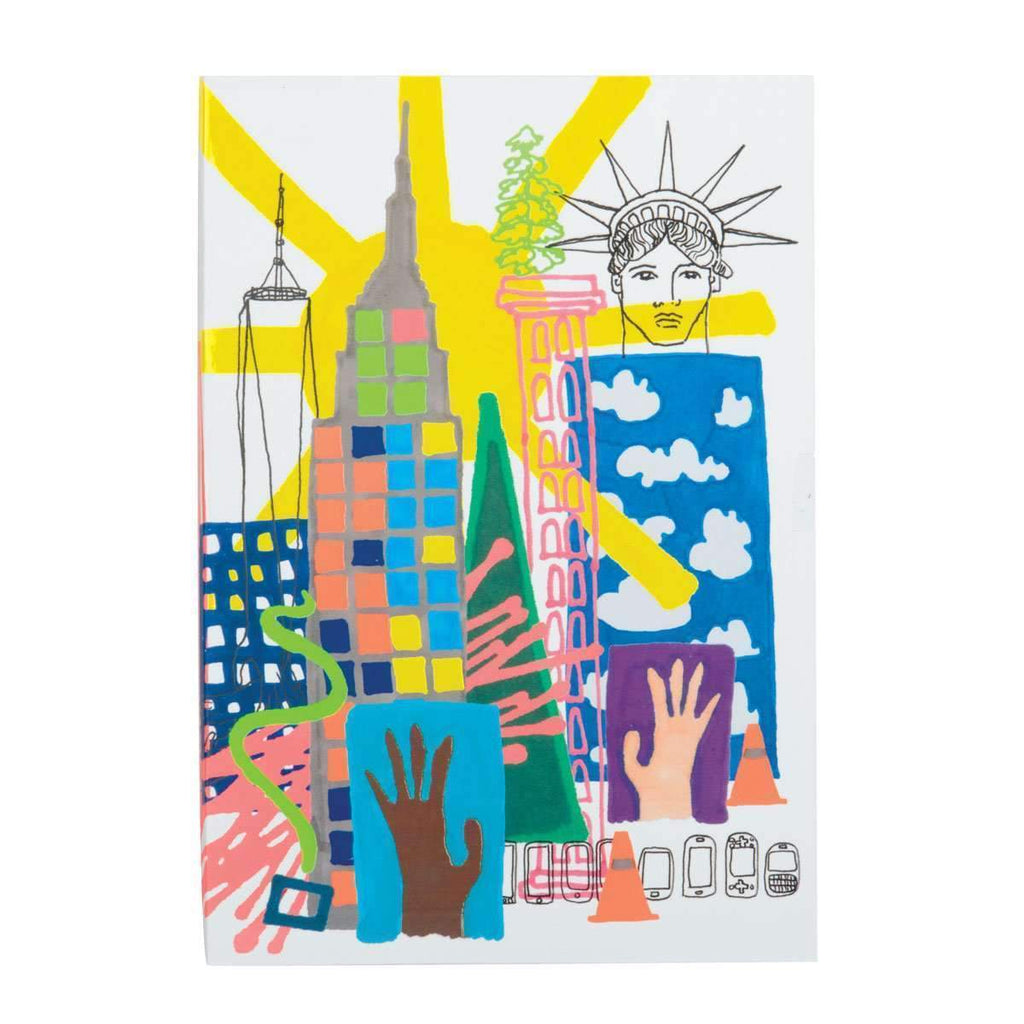 Christian Lacroix New York A5 Notebook - Wanderlustre