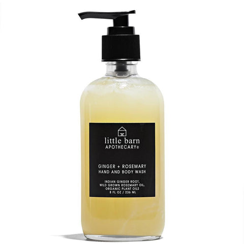 Ginger + Rosemary Hand & Body Wash