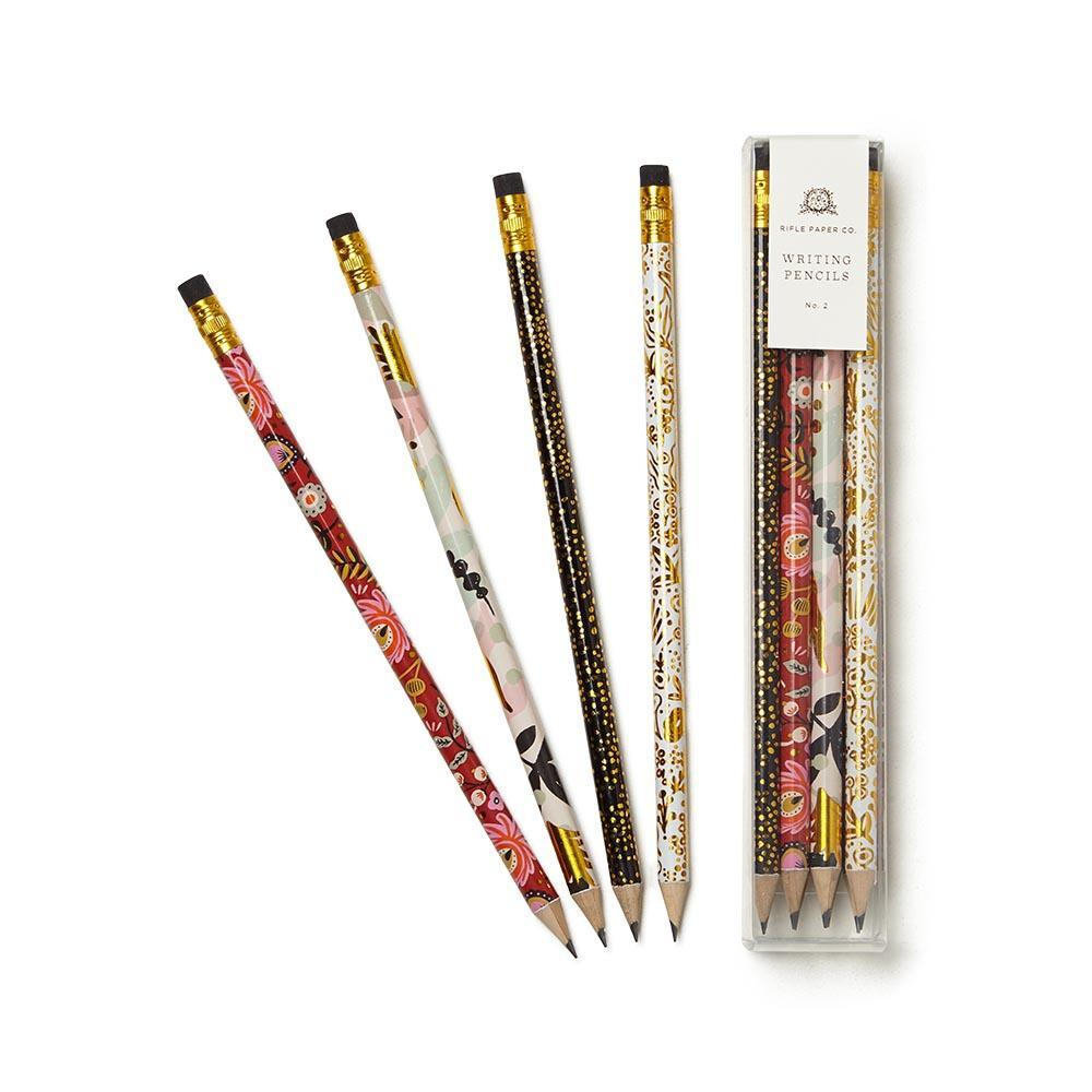 Rifle Paper Co. Writing Pencils (box of 12) - Wanderlustre