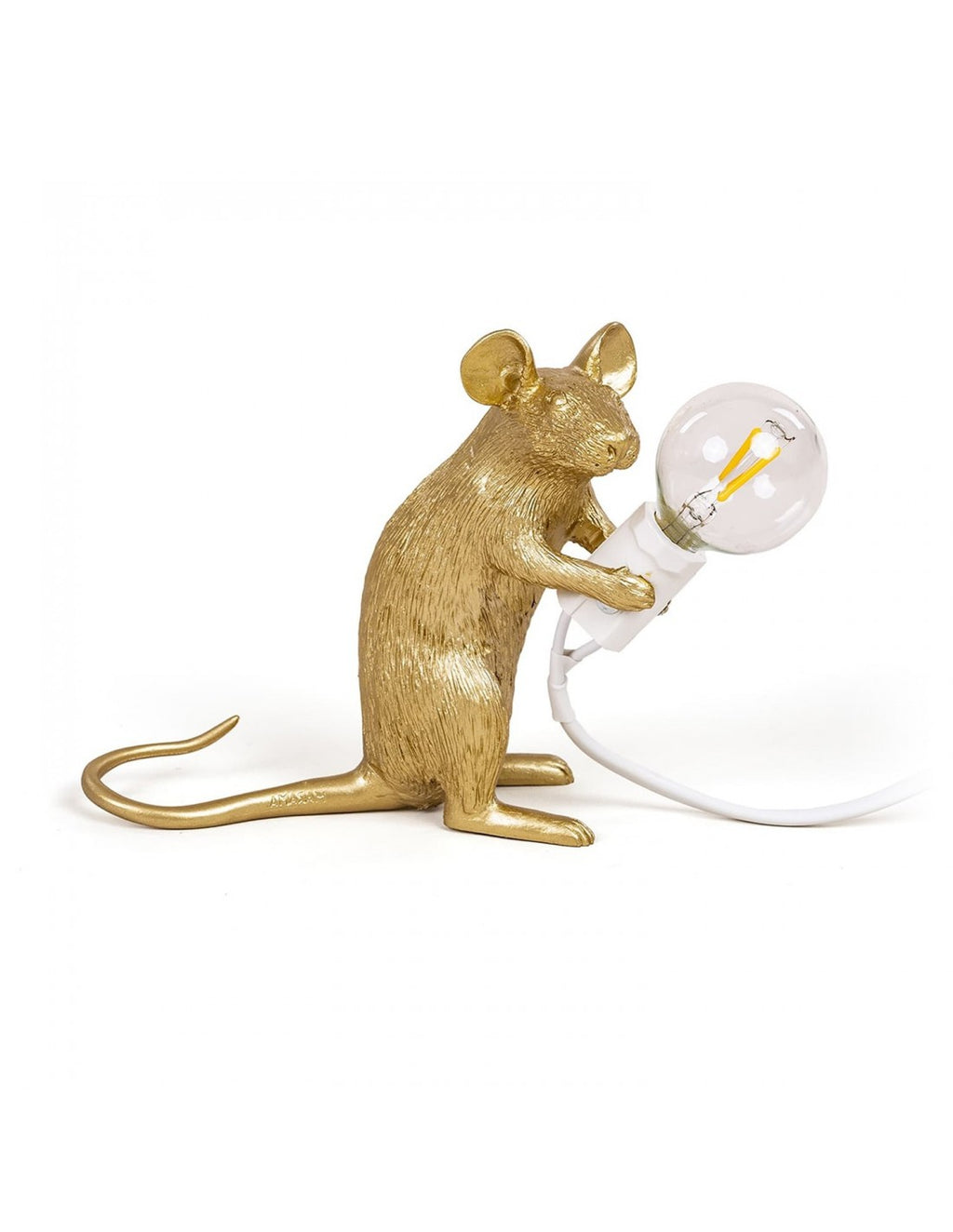 Seletti Mouse Lamps - Gold - Wanderlustre