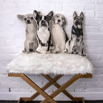 Load image into Gallery viewer, Broderpress Dog Pillows - Wanderlustre
