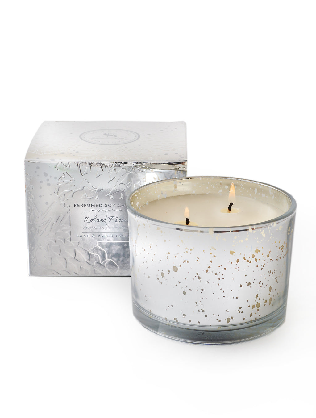 Roland Pine Lumiere Two-Wick Soy Candle - Wanderlustre