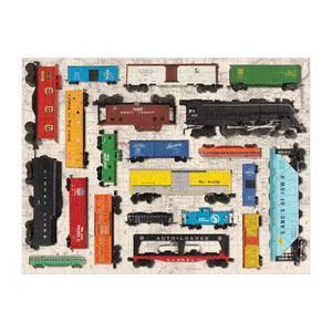 Vintage Toy Trains 300-Piece Jigsaw Puzzle