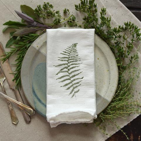 Wild Fern Napkins (set of 4) - Wanderlustre