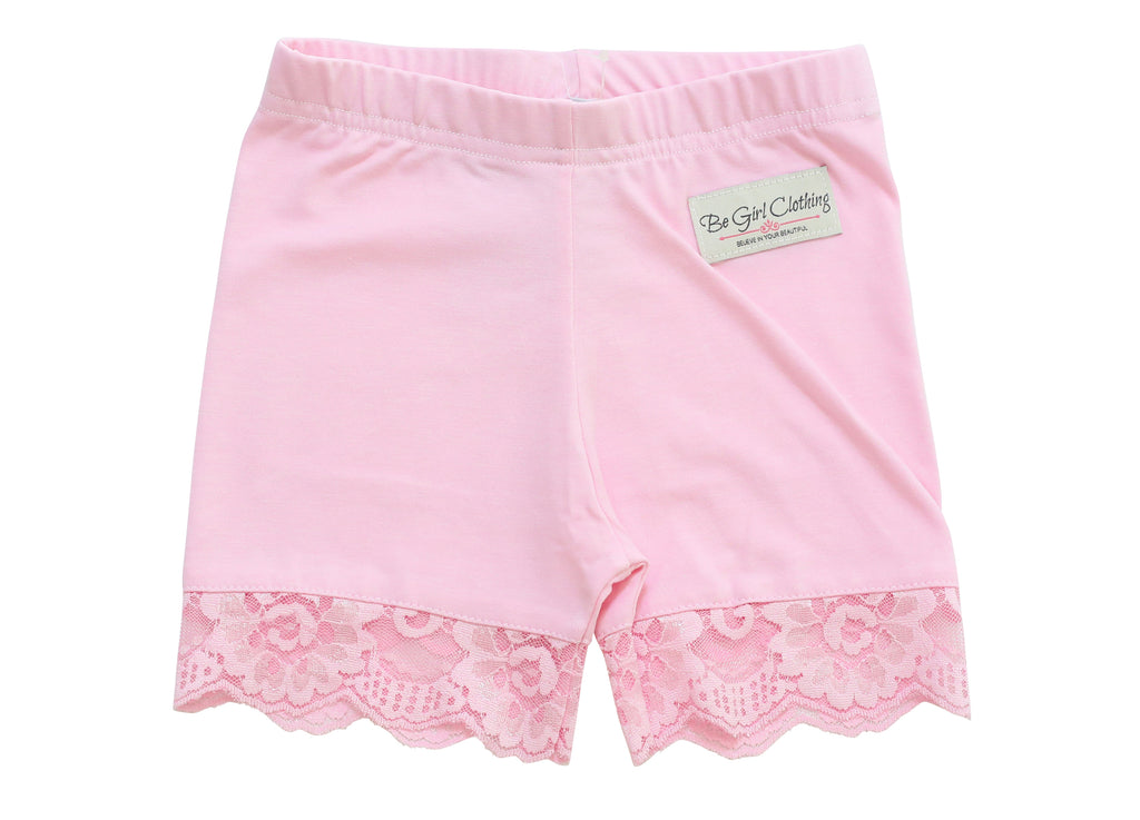 Light Pink Undershorts - Be Girl Clothing
