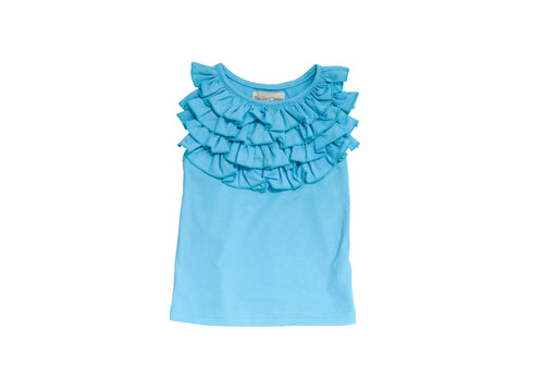 PLAYTIME FAVORITES- Courtyard Ruffle Top (Berry Bliss) - Be Girl Clothing