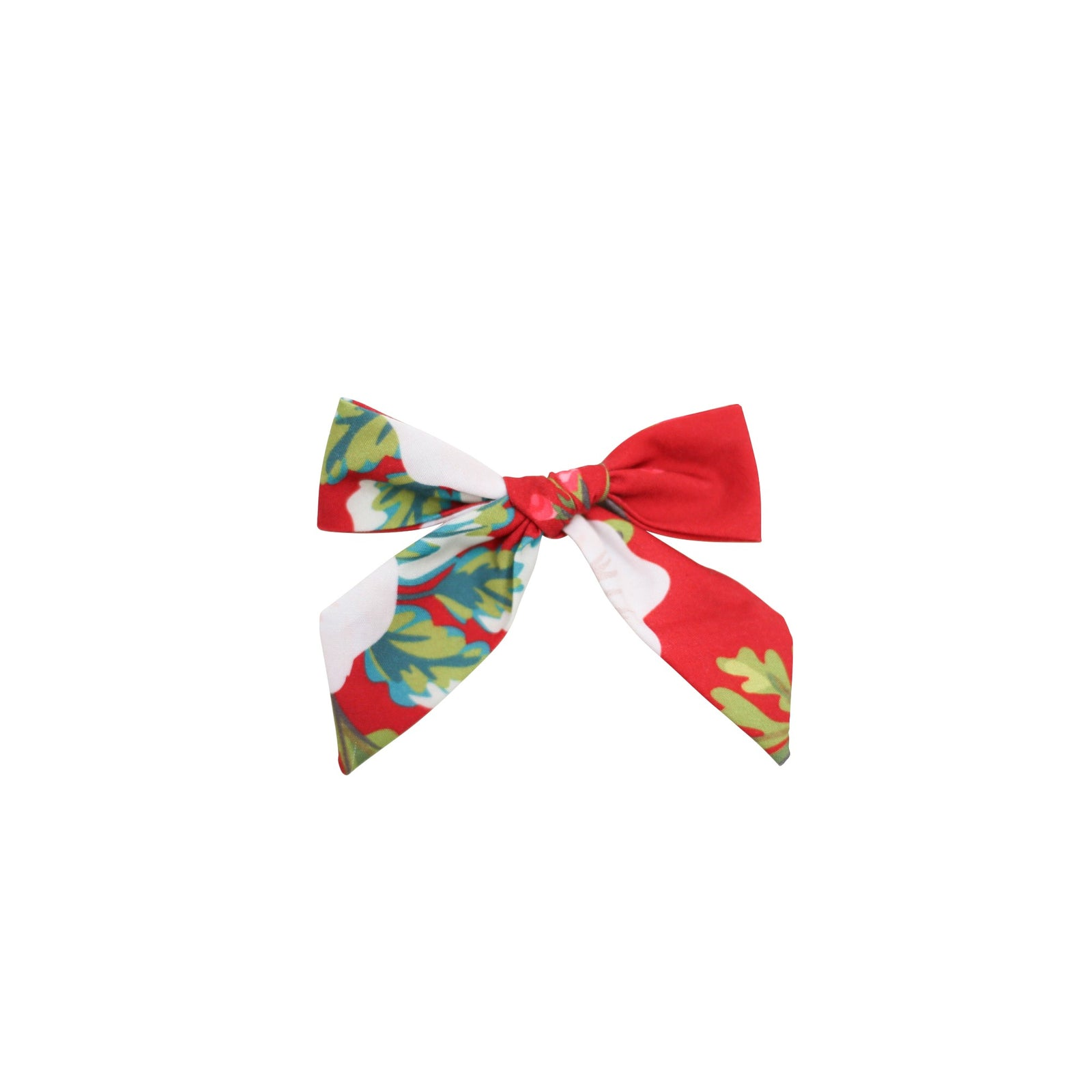 HOLIDAY 2020- Cranberry Floral Bitty Bow