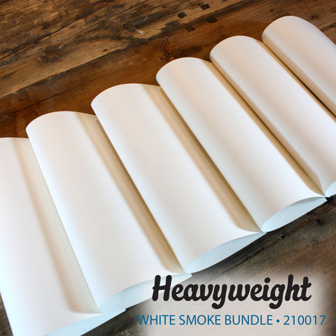Heavyweight White Smoke Bundle - 18 pcs.