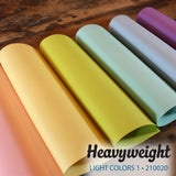 Heavyweight Light Colors 1 Bundle - 18 pcs.