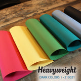Heavyweight Dark Colors 1 Bundle - 18 pcs.
