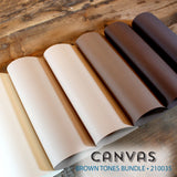 Canvas Brown Tones Bundle - 18 pcs.