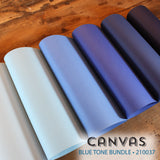 Canvas Blue Tones Bundle - 18 pcs.