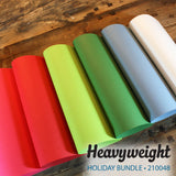 Heavyweight Holiday Bundle - 18 pcs.