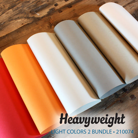 Heavyweight Light Colors 2 Bundle - 18 pcs.