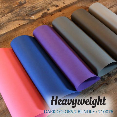 Heavyweight Dark Colors 2 Bundle - 18 pcs.