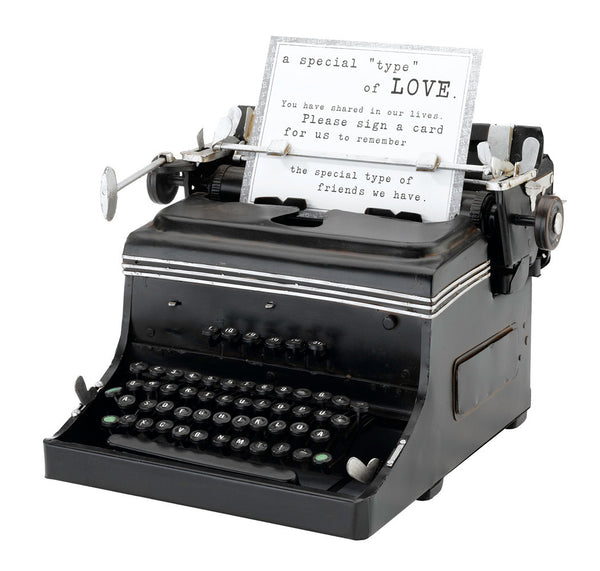1945 Mini Typewriter-Guest Books-Here Comes The Bling™