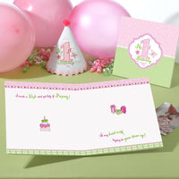1st Birthday Memory Book-Pink-Memory Book-Here Comes The Bling™