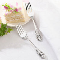 2 Silver-plated Forks-Serving Set-Here Comes The Bling™