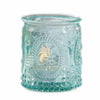 """Vintage"" Blue Glass Tealight Holder (Set of 12)"