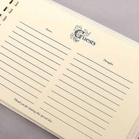 Beverly Clark Monroe Collection Guest Book - Black