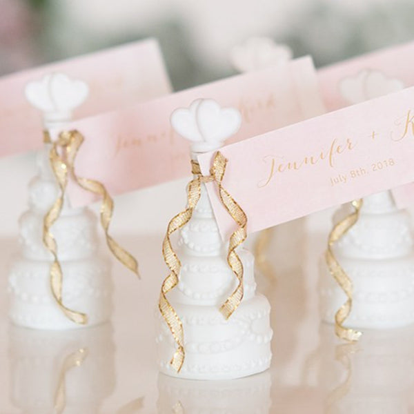 Wedding Bubbles in Wedding Cake Bottle (Pack of 24)