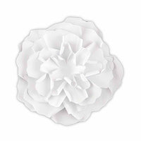 Large DIY Paper Peony Decor Flower White