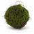 Faux Moss and Wicker Pomander (Available in 2 Sizes)