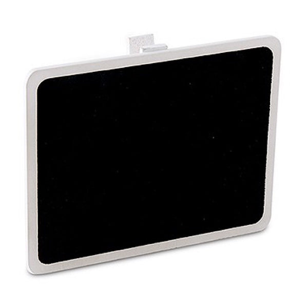 Wooden Black Board with Clip with White Wash Finish Pack of 6