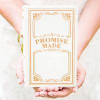 """A Promise Made"" Vintage Inspired Jewelry Book Box-Ring Pillow-Here Comes The Bling™"