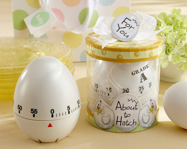 """About to Hatch"" Kitchen Egg Timer in Showcase Gift Box-Favors-Kitchen Tools-Here Comes The Bling™"