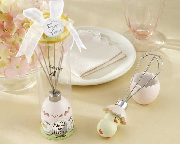 """About to Hatch"" Stainless-Steel Egg Whisk in Showcase Gift Box-Favors-Kitchen Tools-Here Comes The Bling™"