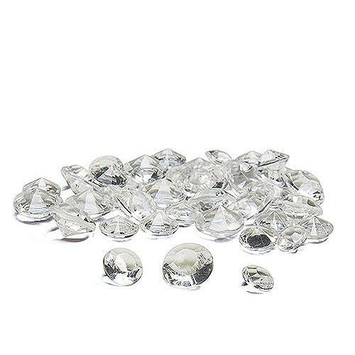 Acrylic Diamond Shaped Confetti-Decor-Table-Here Comes The Bling™