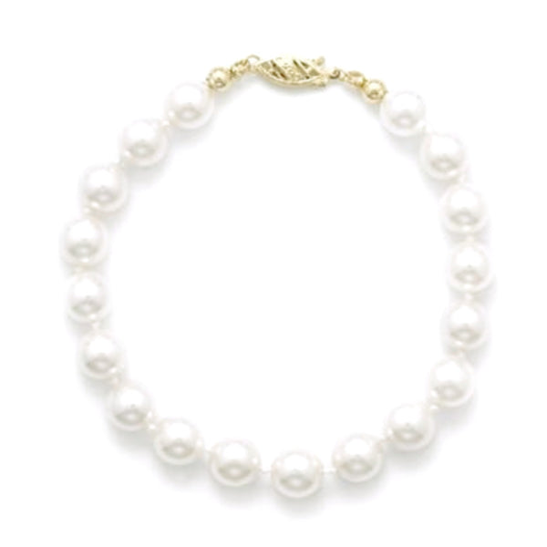 Akoya - AAA Graded Cultured Pearl Bracelet-Bracelets-Here Comes The Bling™