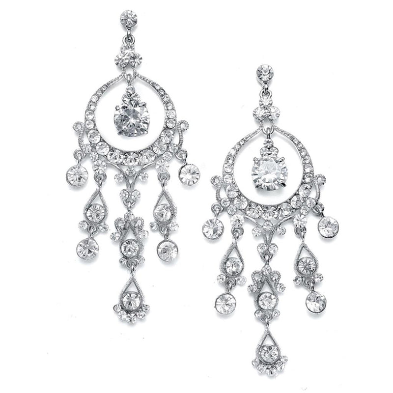 Alluring austrian crystal chandelier earrings alluring austrian crystal chandelier earrings earrings here comes the bling aloadofball Choice Image