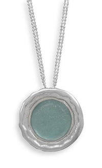 Ancient Roman Glass Necklace-Necklaces-Here Comes The Bling™