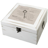 Antique White Card Box-Christian-Card Box-Here Comes The Bling™