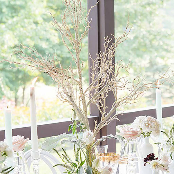 Artificial Birch Branch Centerpiece-Decor-Centerpiece-Here Comes The Bling™