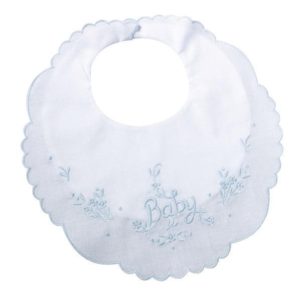 Baby Bib - Blue-Baby Gifts-Here Comes The Bling™