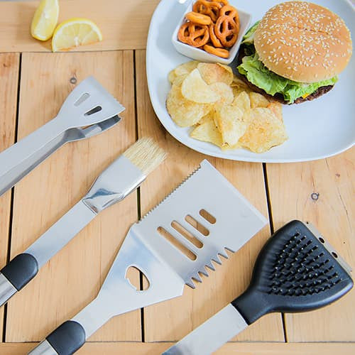 Barbecue Grilling Tool Kit-Grill-Here Comes The Bling™