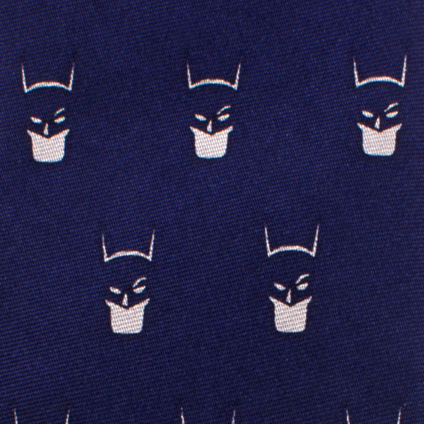 Batman Cowl Boys' Zipper Silk Tie-Boys-Ties-Here Comes The Bling™