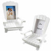 """Beach Memories"" Miniature Adirondack Chair Place Card/Photo Frame (Set of 8)"