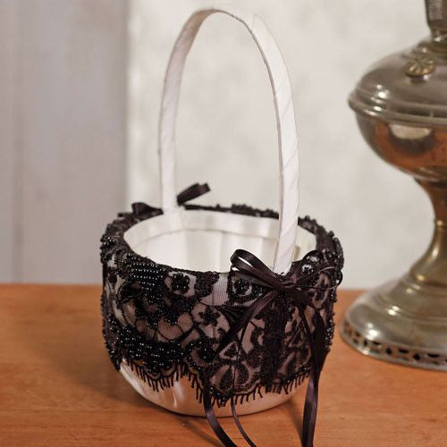 Beverly Clark Gala Collection Flower Girl Basket-Flower Basket-Here Comes The Bling™