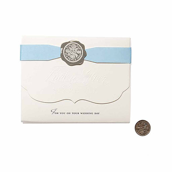 Beverly Clark Lucky Silver Sixpence-Wedding Traditions-Here Comes The Bling™
