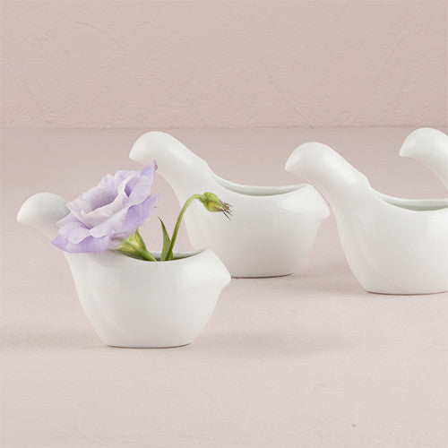 """Birds of a Feather"" Miniature Ceramic Container/Holder ( Sold in Sets of 4 )-Decor-Container-Here Comes The Bling™"