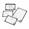 Black and White Recipe Cards-Set/24-Recipe Cards-Here Comes The Bling™